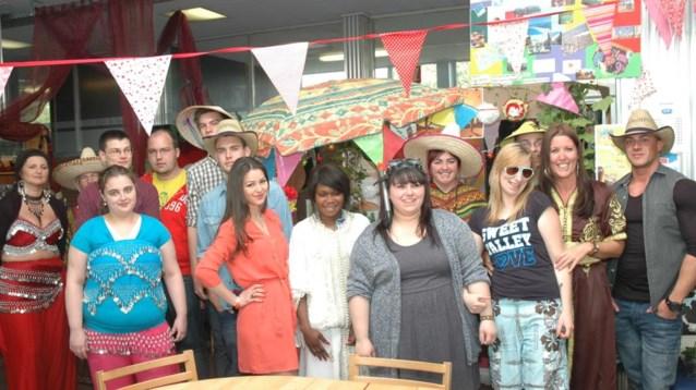 Multiculturele  dag in CVO De Oranjerie