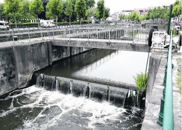 Waterwiel aan Baudelopark zit (nog steeds) strop