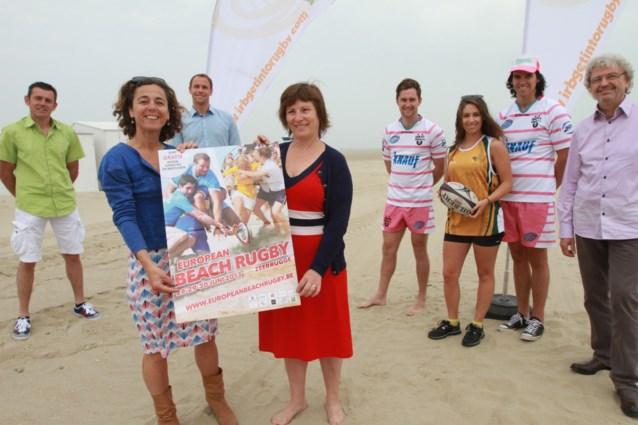 Strand Zeebrugge krijgt rugbydorp voor tornooi