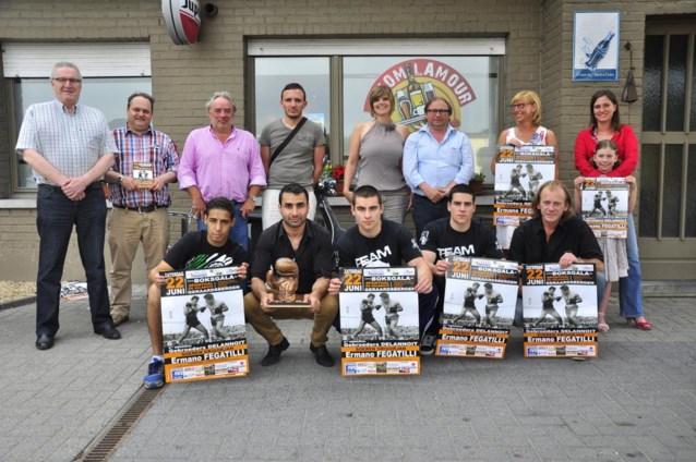 Jonge boksers treden in voetsporen van broers Delannoit