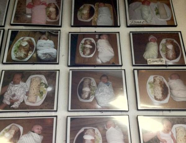 'Restaurant zet baby's op het menu'