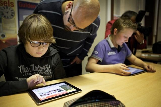Kinderen maken veel meer fouten op tablets