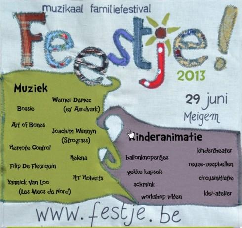 Fe(e)stje is een muzikaal familiefestival