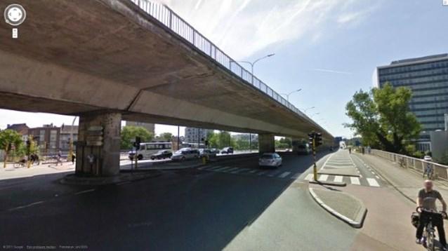 Fietsers en voetgangers mogen op viaduct Zuid