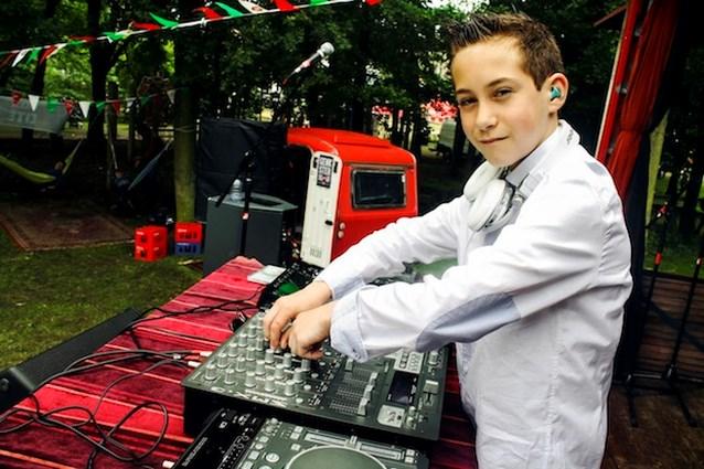 DJ Jorn: de jongste DJ op Genk On Stage