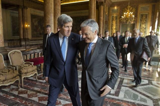 Reynders schrijft brief aan Kerry