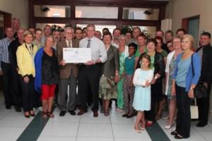 Ontbijtbuffet en cavabar Ronde van België leveren GROS 2.050 euro