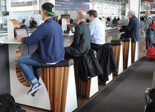 'We-Bikefietsen' groot succes op luchthaven
