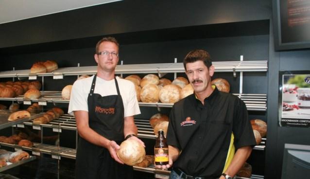 Bakker en bierbrouwer maken samen 'Kwibusbrood'