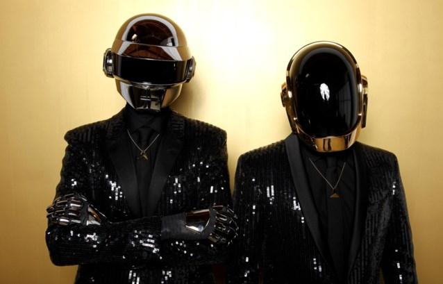 Daft Punk maakt zeldzaam tv-optreden