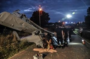 Sportvliegtuigje crasht na opstijgen