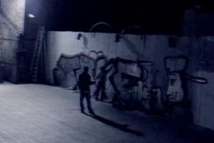 VIDEO. Bewakingscamera filmt graffitispuiters