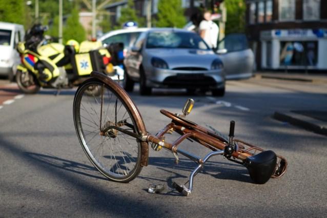 44 ongevallen met fietsers per dag