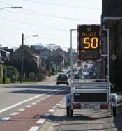 Meer dan helft van auto's te snel op Velmerlaan