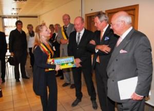 Gouverneur Jan Briers op bezoek in Zwalm