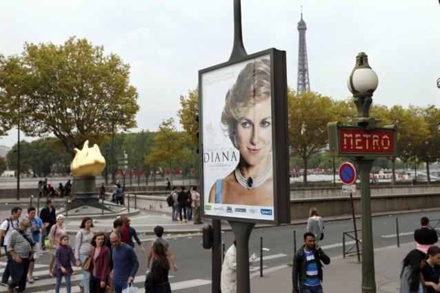Poster Diana 'schaamteloos' opgehangen naast tunnel waar ze stierf