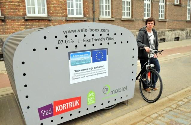 Stad investeert duizenden euro's in fietsenstallingen