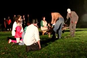 VIDEO. Halloween aan het kasteel in het Runcvoortpark