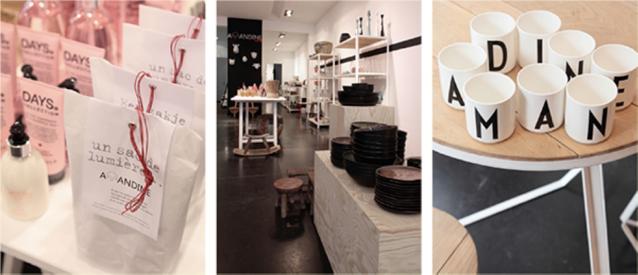 NIEUW. Pop-up shop De Tafel van Amandine