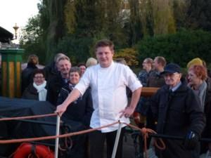 FOTO. De Smaakboot legt aan in Deinze
