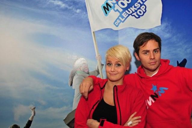 Eva Daeleman en Peter Van de Veire presenteren 'Eurosong'