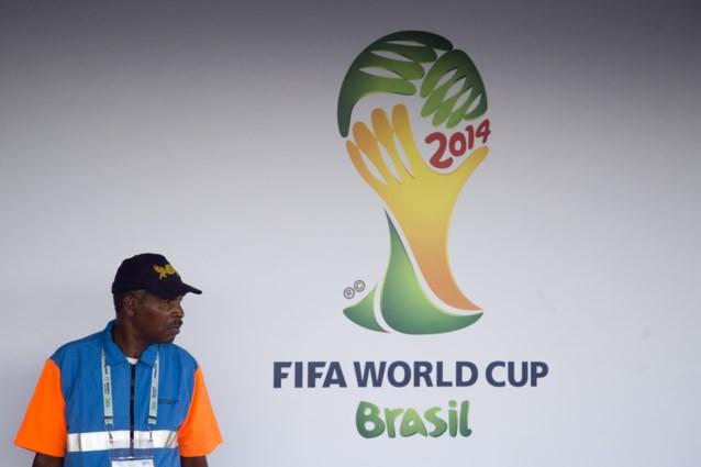 Speelschema WK Brazilië 2014