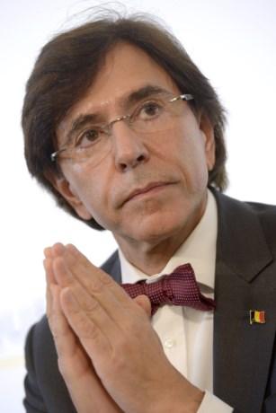 Premier Di Rupo: 'Afscheid van een man die hoop bracht'