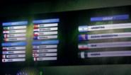 Deze landen spelen tegen elkaar op het WK