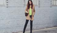 Streetstyle by Emma: kleur in de winter