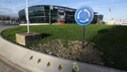 Rotonde  Ghelamco Arena vandaag open voor auto's