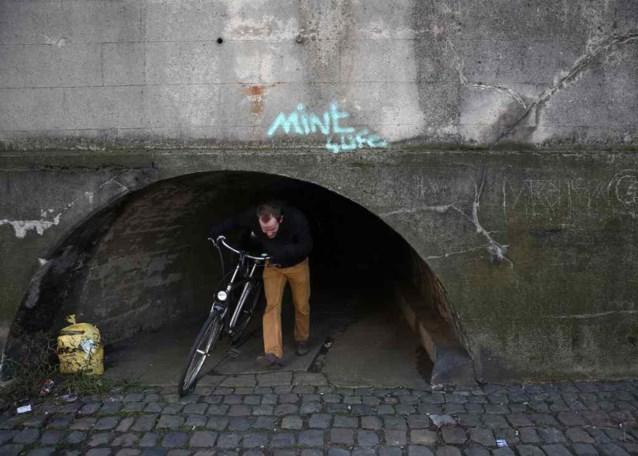 Oplossing voor bizar tunneltje in de maak