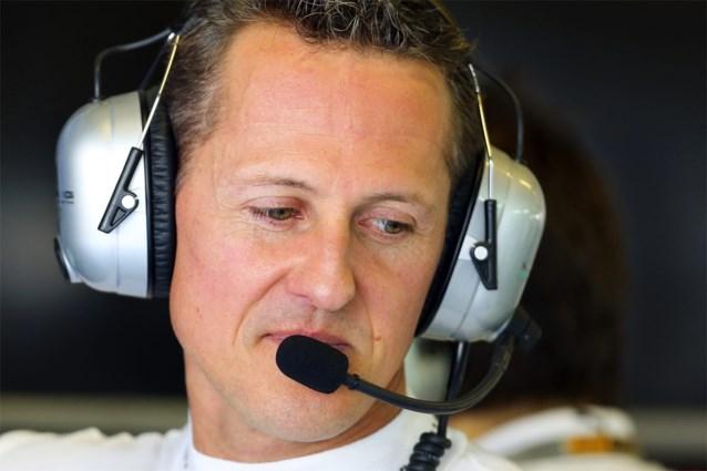 Schumacher filmde eigen ongeval met helmcamera