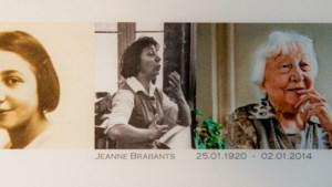 Afscheid van Jeanne Brabants