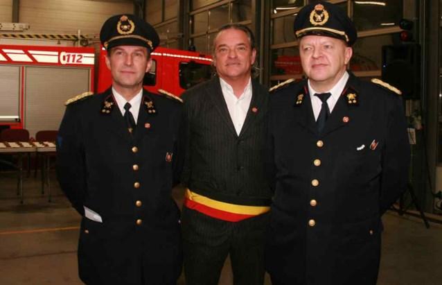 Dirk van Waeyenberghe is brandweercommandant
