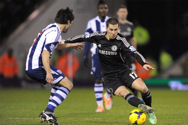 PREMIER LEAGUE. Chelsea en Hazard lopen blauwtje bij West Bromwich