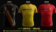Met deze shirts spelen Rode Duivels op het WK
