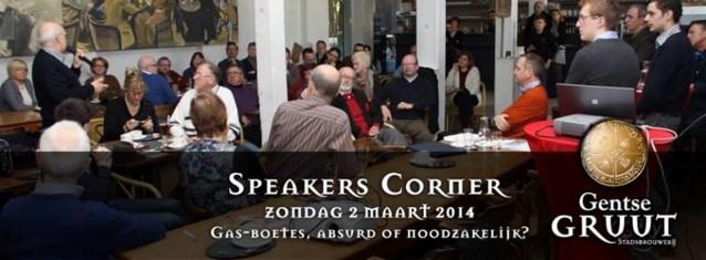 Gentse Speakers Corner debatteert over (on)zin van GAS-boetes