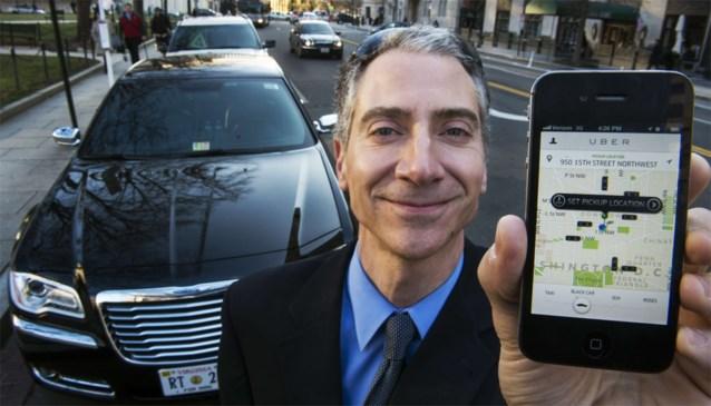 Twee voertuigen 'revolutionaire taxidienst' Uber in beslag genomen