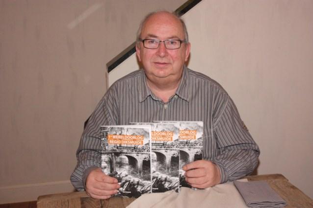 Eric Seurynck schrijft boek over front in Diksmuide