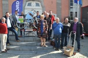 Vier fietsen te winnen op zaterdagmarkt
