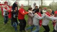 Groot volksfeest met Zwitserse Polonaise