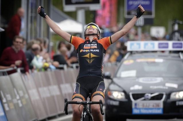 Nederlandse Ellen van Dijk wint bij vrouwen