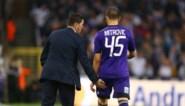 Mitrovic geeft Hasi geen hand bij wissel