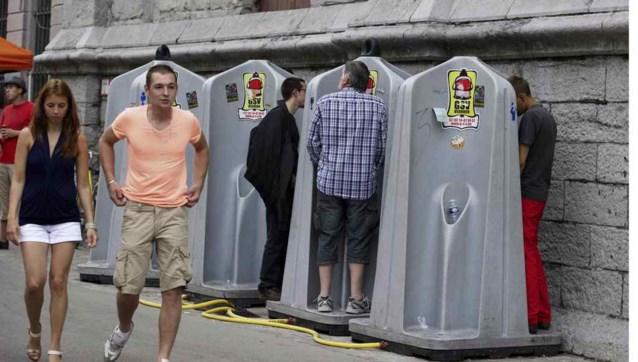 Toiletbezoek gratis op Gentse Feesten