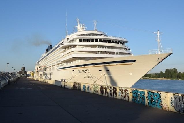 VIDEO. Cruiseschip Asuka II in Antwerpen