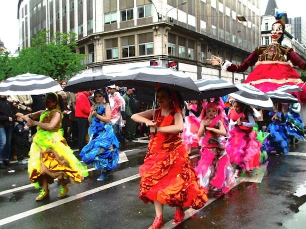 Leuke chaos op Zinneke Parade
