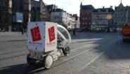 Riksja's van Bubble Post vestigen zich in Kortrijk