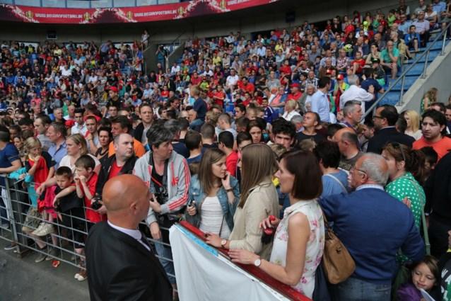 Rode Duivels verwachten 20.000 fans op training