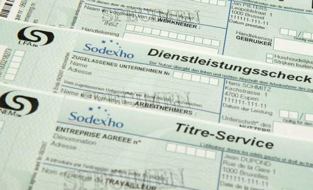 Sodexo blokkeert voor vijfde keer aanbesteding dienstencheques