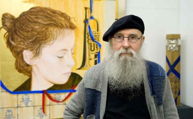 Kunstenaar Erik Verberckt vandaag begraven